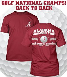 Back 2 Back Golf Champs Tee