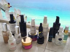Vacation is coming to an end. Can't pretend I'm not sad about it. This little army of skincare superstars were my go-to's this trip. I brought more stuff with me (of course) but these were the products I invariably reached for.  When you are using sunscreen double-cleansing is crucial. The @antoniaburrell oil cleanser rinses off clean yet gives a thorough cleanse and smells divine. I follow up with the @joshrosebrook cleanser which is also perfect for mornings and no sunscreen days  When the…