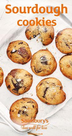 #sourdough #cookies #newrecipes #sainsburys Hazelnut Cookies, Chocolate Hazelnut, My Favorite Food, Favorite Recipes, Sainsburys, Freshly Baked, Cookie Dough, New Recipes, Good Food