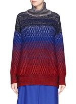 HELEN LEE | Ombré intarsia knit turtleneck sweater