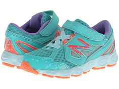 New Balance Kids 750v3 (Infant/Toddler) Teal/Coral - Zappos.com Free Shipping BOTH Ways