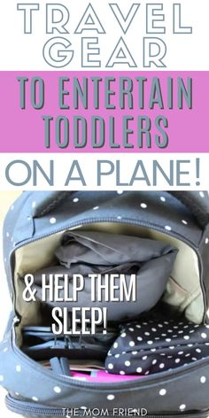 This is the MUST-HAVE travel gear for traveling with toddlers an a plane. Use these tips to keep your child entertained and help them sleep on an airplane for short or long flights. This is the absolute BEST travel gear for kids! Toddler Sleep, Toddler Travel, Travel With Kids, New Travel, Family Travel, Flying With A Baby, Plastic Grocery Bags, Long Flights, Diaper Bag Backpack