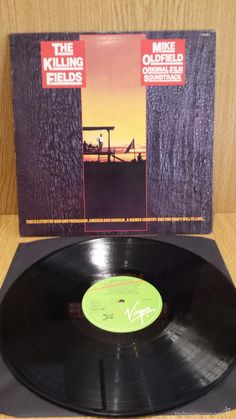 MIKE OLDFIELD. THE KILLING FIELDS. ORIGINAL FILM SOUNDTRACK. LP / VIRGIN-SPAIN-84 / LUJO. ****/****