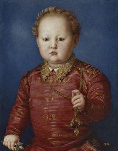 BRONZINO, García de Medici, 1550, Museo del Prado