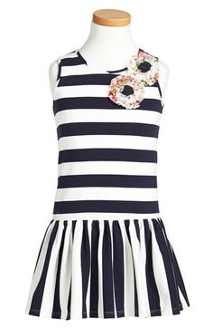 Pippa & Julie Stripe Dress (Little Girls & Big Girls) available at #Nordstrom