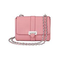 Aspinal of London Women s Lottie Bag - Dusky Pink ( 520) ❤ liked on Polyvore d5fc9b6e0b