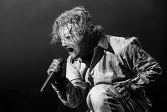 Corey Taylor of Slipknot. So excited for their new album! Go check out their new single: the Negative One.