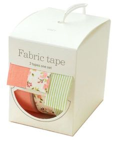 Nuage Fabric Masking Tape - Cozy - Set 3. $18.00, via Etsy.