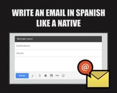 10 best carta formal images on pinterest writing letters learn writing an email in spanish like a native fandeluxe Image collections