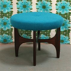 Foot Stool | G Plan | Mid Century- we have the G-Plan coffee table.... Now we need the footstool to match!