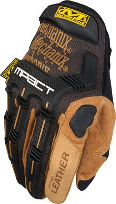 """Mechanix """"M-Pact Leather Gloves"""""""