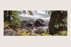 """RIVERSIDE"" Mt. Baker National Forest, Washington State | Rivers and Waterfalls | Steve Hansen Fine Art Landscape Photography"