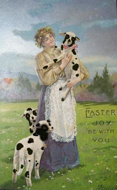 Easter joy be with you