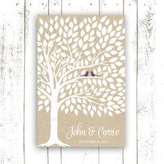 Guest Book Tree  Wedding Guest Book Poster by MooseberryPrintShop, $64.00