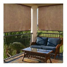 Found it at Wayfair - Sun Shade in Cocoa   I want this for my front porch