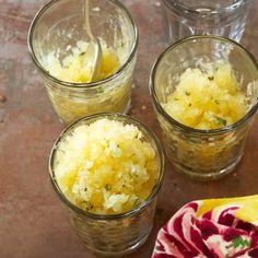 Pineapple-Mint Granita