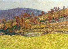 Chemin de Marquayrol. Henri Martin