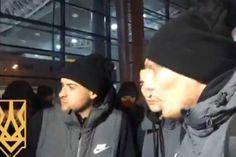 Ультрас остановили автобус «Шахтера», чтобы поговорить о войне на Донбассе