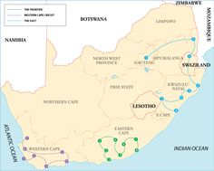Itineraries South Africa