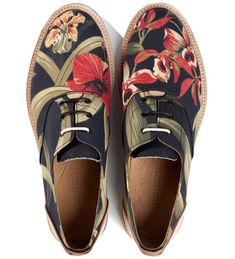 Thorocraft Floral Hampton Shoe