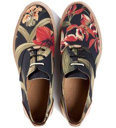 Thorocraft Floral Hampton Shoe