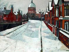 Church of St Peter and St Paul, New Brighton, Wirral by J. M. Pickering Williamson Art Gallery & Museum Oil on canvas, 58.4 x 77.4 cm Collection: Williamson Art Gallery & Museum Liverpool History, Liverpool City, New Brighton, Art Uk, Art Gallery, 21st, England, Artists, Explore