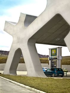 Berlin's J. MAYER H. is currently designing a series of twenty rest areas along a new highway in the Caucasus Republic of Georgia, connecting Azerbaijan and Turkey. Two rest areas have already been completed, and a third ...