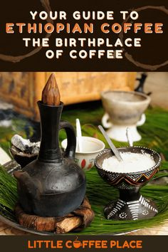 Your guide to Ethiopian Coffee: The Birthplace of Coffee and the regional flavor differences! #littlecoffeeplace #coffee #ethiopia #traditional Low Acid Coffee, Little's Coffee, Coffee Plant, Coffee Guide, Coffee Facts, Coffee Branding, Dried Beans, Sun Dried, Brand Packaging