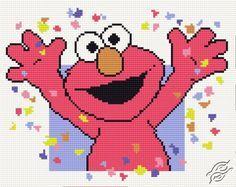 Elmo - Free Cross Stitch Pattern