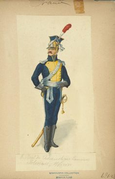 Officer 8th Chevaulegers