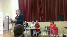 Twitter / FifeFreePressEd: Gordon Brown at Lochgelly ...