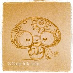Mushroom with glasses reading a book Cute Sketches, Books To Read, Little Girls, Stuffed Mushrooms, Glasses, Reading, Drawings, Fun, Stuff Mushrooms