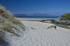 Camusdarach Beach  Beautiful Camusdarach Beach was made famous by the cult film Local Hero. This short walk heads out to explore the celebrated sands. #Scotland