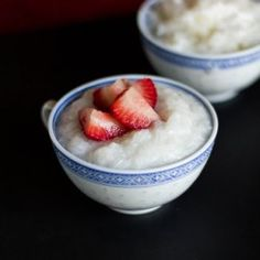 Thai Coconut Sticky Rice Pudding