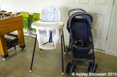 A child's cot, high chair and strollers are provided FREE of charge.