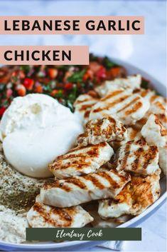 Lebanese Garlic Chicken
