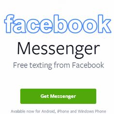 Facebook Messenger App for Android Download Free Best Android, Android Apps, Facebook Messenger, Windows Phone, Texts, Iphone, Free, Text Messages, Texting