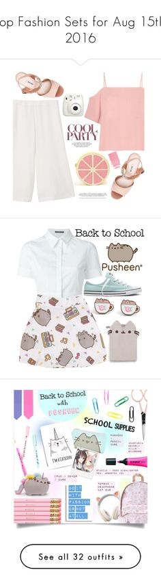 """""""Top Fashion Sets for Aug 15th, 2016"""" by polyvore ❤ liked on Polyvore featuring T By Alexander Wang, MANGO, Miu Miu, Nails Inc., Fujifilm, clutches, Pusheen, Alexander McQueen, Converse and contestentry"""