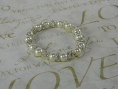 All About Bling Ivory or White  Pearl and by ParadiseTreasureCove, $15.00