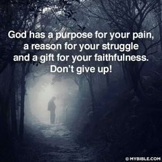 Have Faith - don't give up!    mwordsandthechristianwoman.com