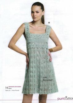 Pretty charted dress or tunic (if made in shorter length)