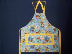 Veggie Tales Apron made by Fried Green Aprons
