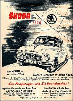 1953 Skoda 1200 AMS