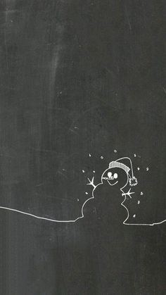 Winter iPhone & iPad Wallpaper Update your iPhone and iPad with this adorable chalkboard winter snowman wallpaper. Free and easy. Noel Christmas, All Things Christmas, Winter Christmas, Christmas Crafts, Christmas Pictures, Vector Christmas, Elegant Christmas, Christmas Quotes, Christmas Balls