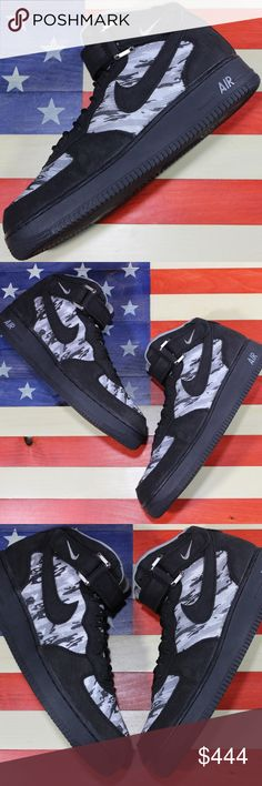 Details about Nike Air Force 1 I Recon LIMITED EDITION 2004 Army Size 12 mid