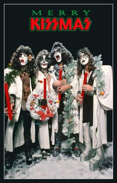 American rock band KISS was formed in New York City back in January of 1973 by Paul Stanley, Gene Simmons, Peter Criss, and Ace Frehley. The band was able to grab attention with its use of full face paint and stage outfits. Kiss Band, Kiss Rock Bands, Paul Stanley, Gene Simmons, Heavy Metal, Los Kiss, Kiss Group, Merry Kissmas, Eric Carr