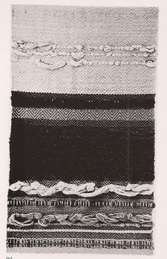 dont know if this is a gunta stolzl textile, but if it isnt it sure was inspired by her work.