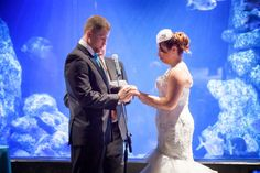 Coral reef exhibit>Oklahoma Aquarium>Wedding