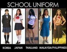 Need some creativity in Malaysia. School Uniform Girls, Girls Uniforms, Funny Asian Memes, Funny Images, Funny Pictures, Funny Pics, Pretty Outfits, Cool Outfits, Funny Charts