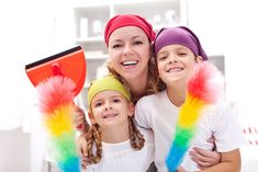 Keeping a clean house: secrets from busy moms